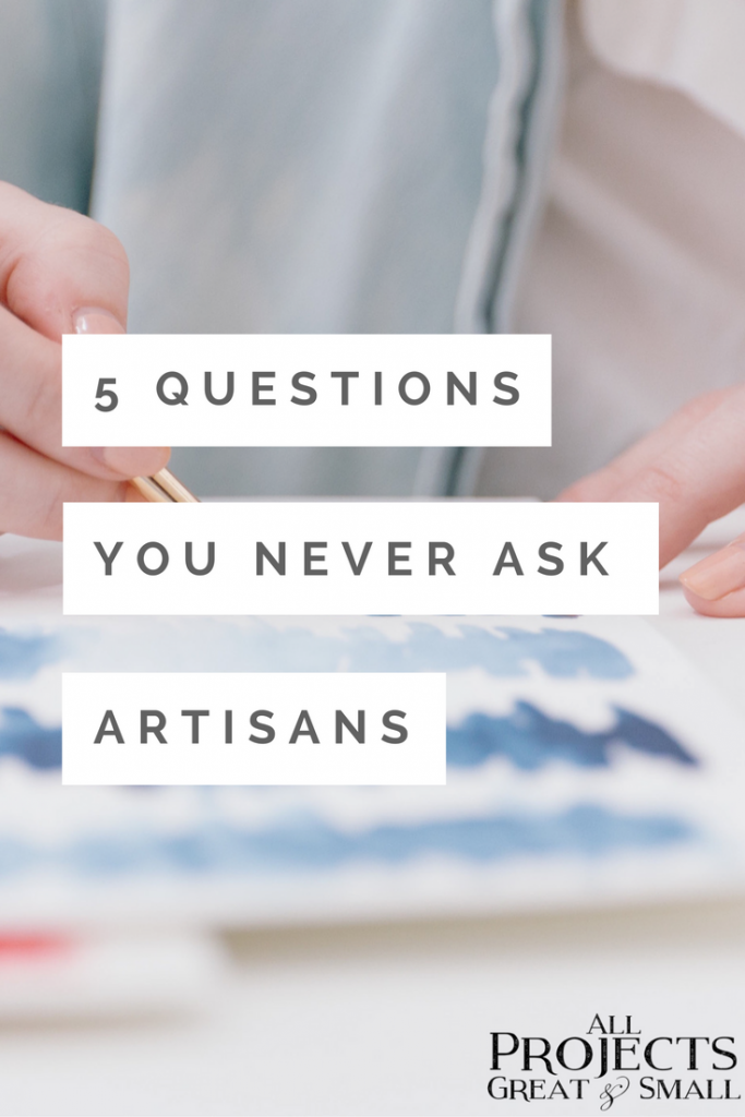 Top 5 Questions You Never Ask Artists
