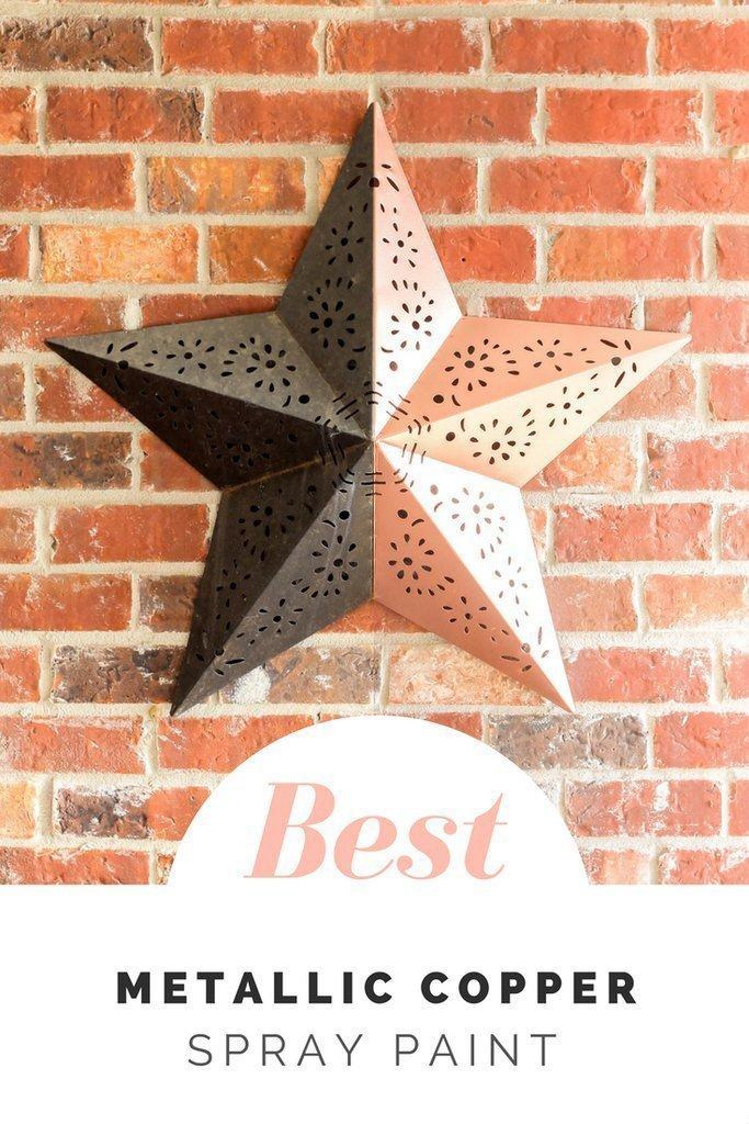 Best Copper Spray Paint Star