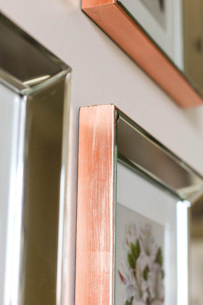 Mirrored Copper Frame