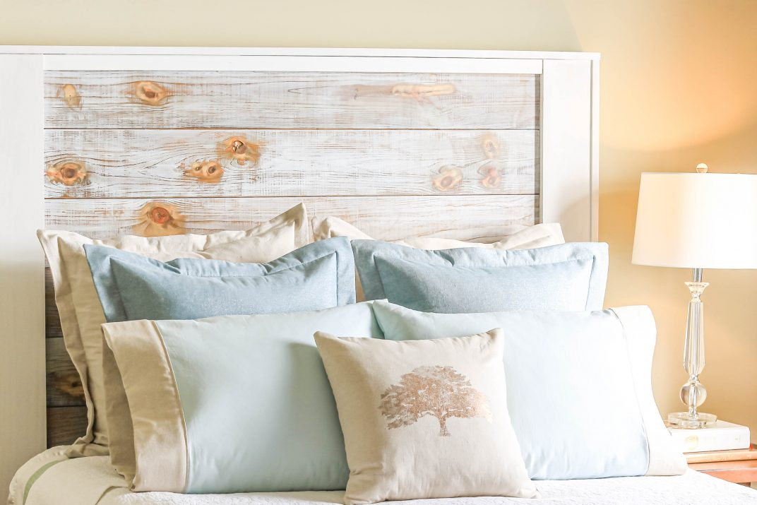 Modern Farmhouse Shiplap Headboard