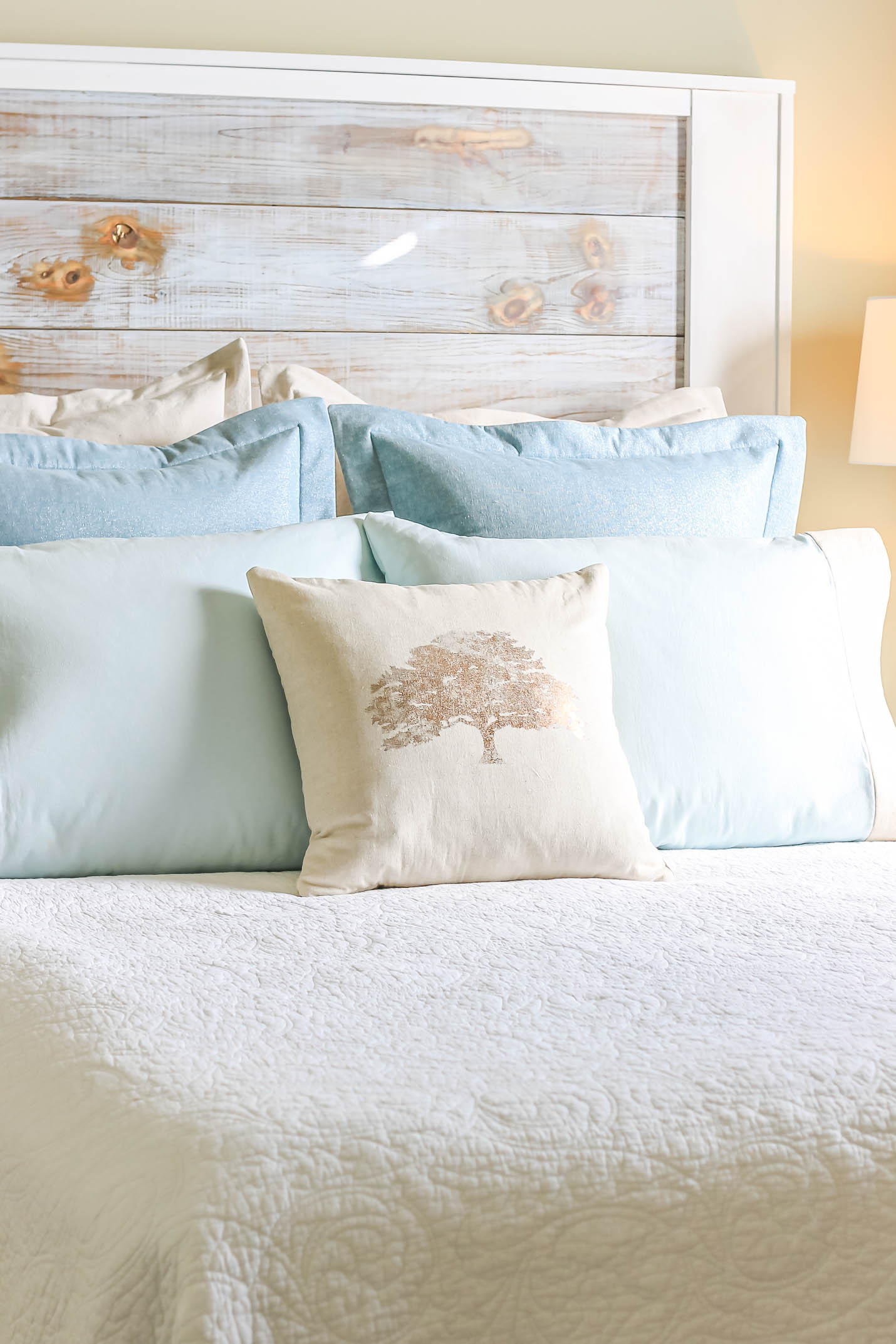 Modern Farmhouse Bed Pillows