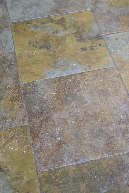 Floor under Indoor Rug