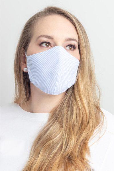 face mask seersucker