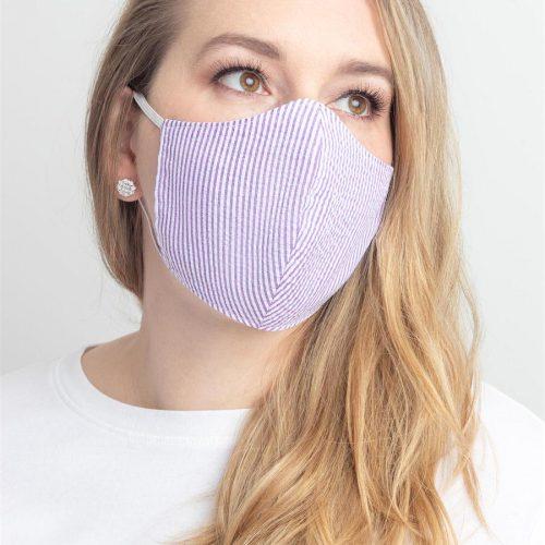 face mask purple